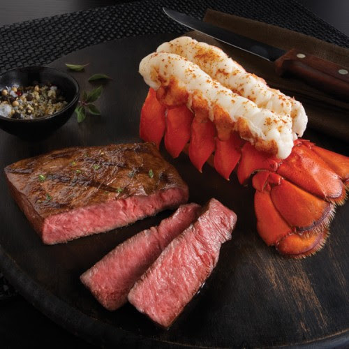 Wagyu Beef & Wild Australian Lobster Tail