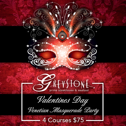 Valentine's Day Venetian Masquerade Party