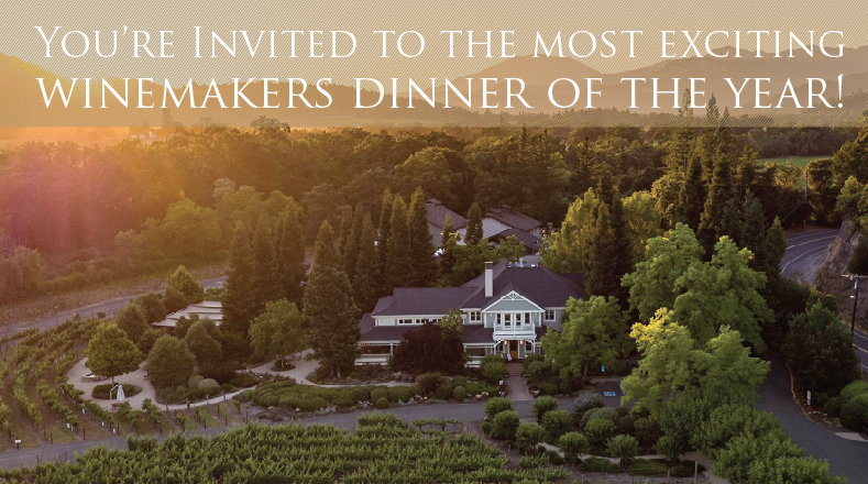 The First Annual Duckhorn Winemaker's Dinner