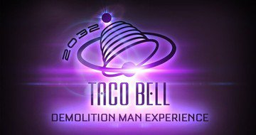 Futuristic Demolition Man Taco Bell Restaurant Is Coming to Greystone During Comic-Con!
