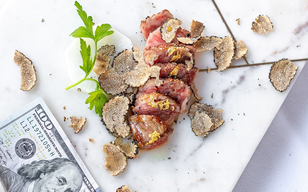 New Wagyu steak