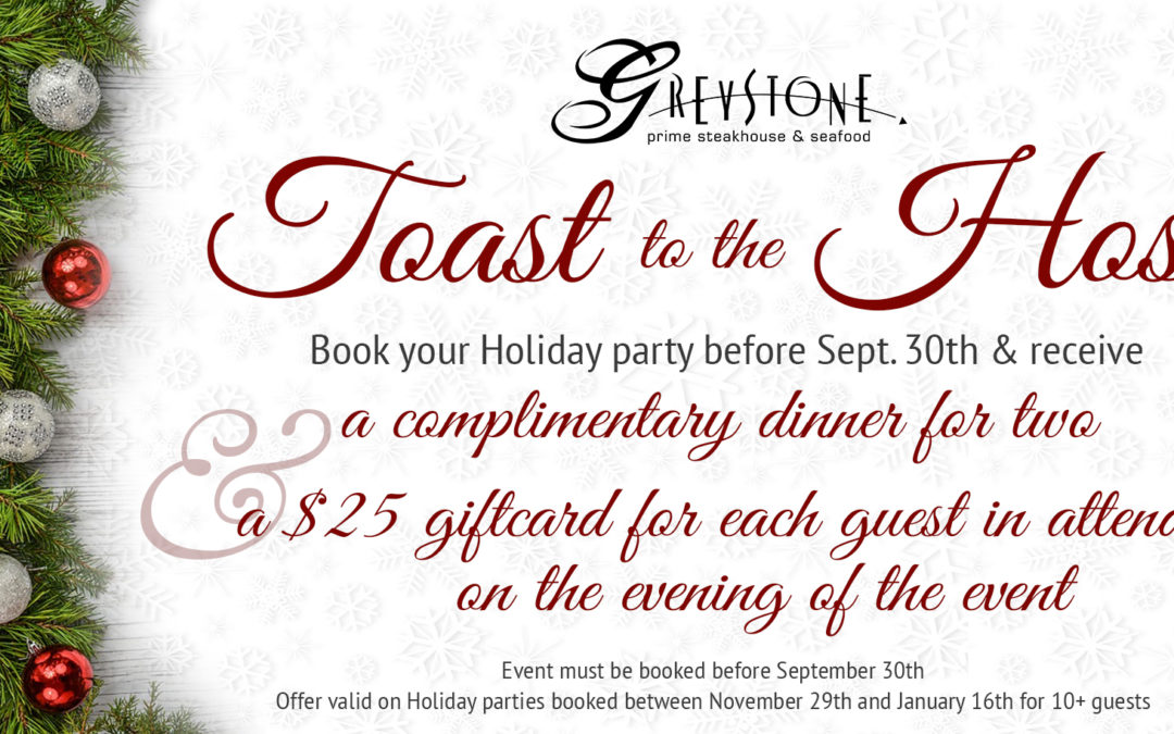 The Best Place to Host Your Holiday Party in the Gaslamp
