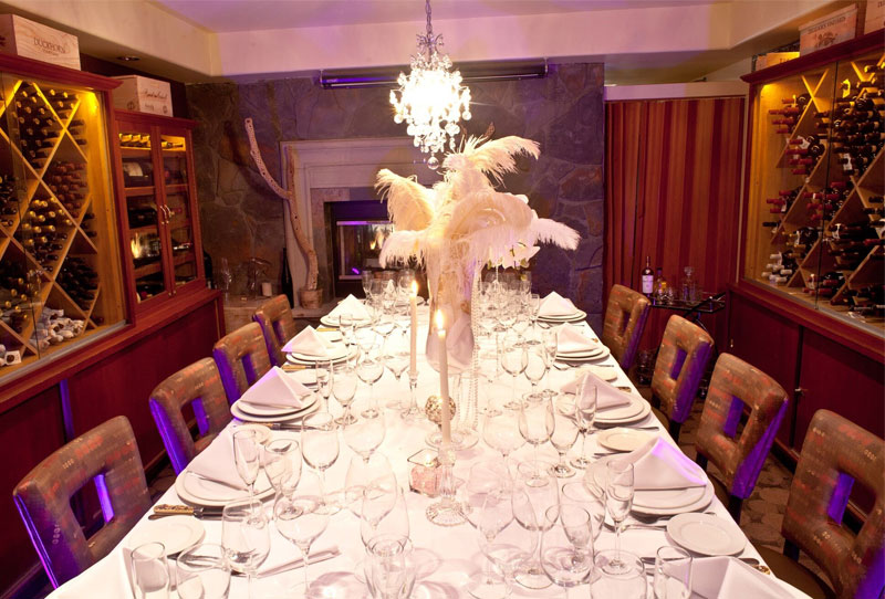 Host Your Next Private Dining Event in Greystone's Private Room!