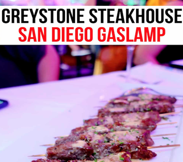 Greystone Steakhouse: Yummy Nibbles & Cocktails With Attitude in the Gaslamp