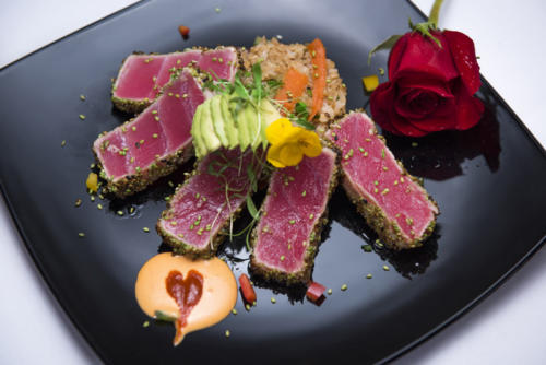 Locally caught ahi tuna